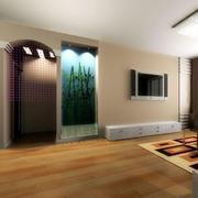简欧风格客厅木板装修