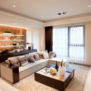 90平米客厅装修设计