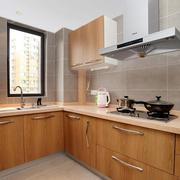 小户型L型厨房设计