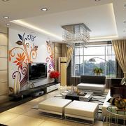 新房中式客厅设计