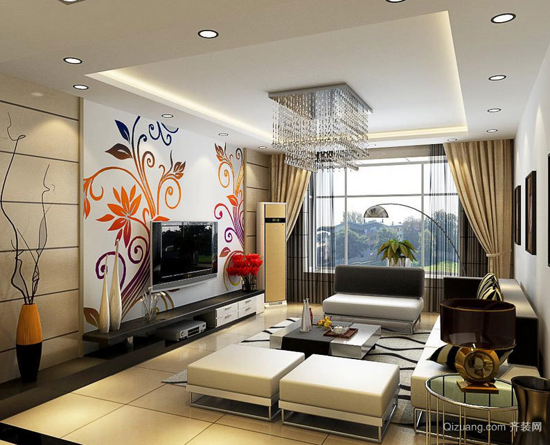 让家充满爱:大户型精美新房装修效果图欣赏大全