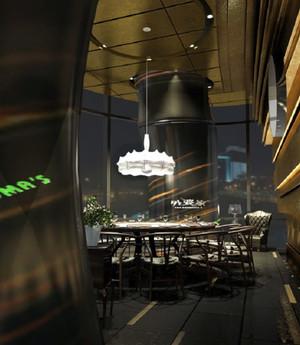 120平米各式各样极具特色的主题餐馆装修效果图