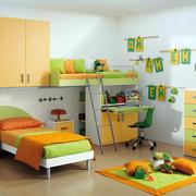 果绿色儿童房装修