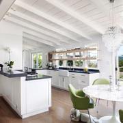 混搭风格厨房吧台装饰