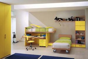 孩子的起跑线:爱他就给他设计一套儿童套房