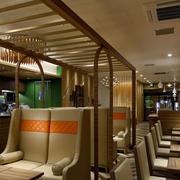 美式简约风格咖啡厅效果图
