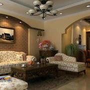 美式客厅灯饰设计