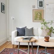 深色简约风格客厅地毯