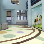小学教室前厅设计