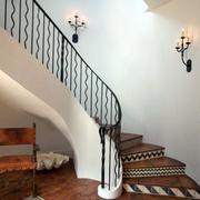 别墅复古欧式楼梯设计