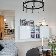三室两厅客厅创意灯饰设计