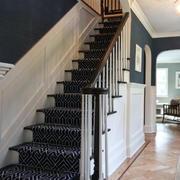 现代简约大理石楼梯效果图