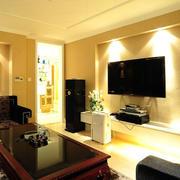 欧式家庭影院射灯设计