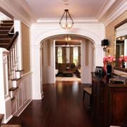 客厅楠木橱柜设计