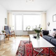 北欧风格客厅地板设计