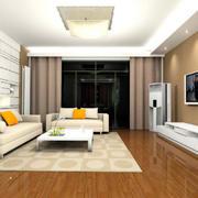 简约风格客厅地板设计