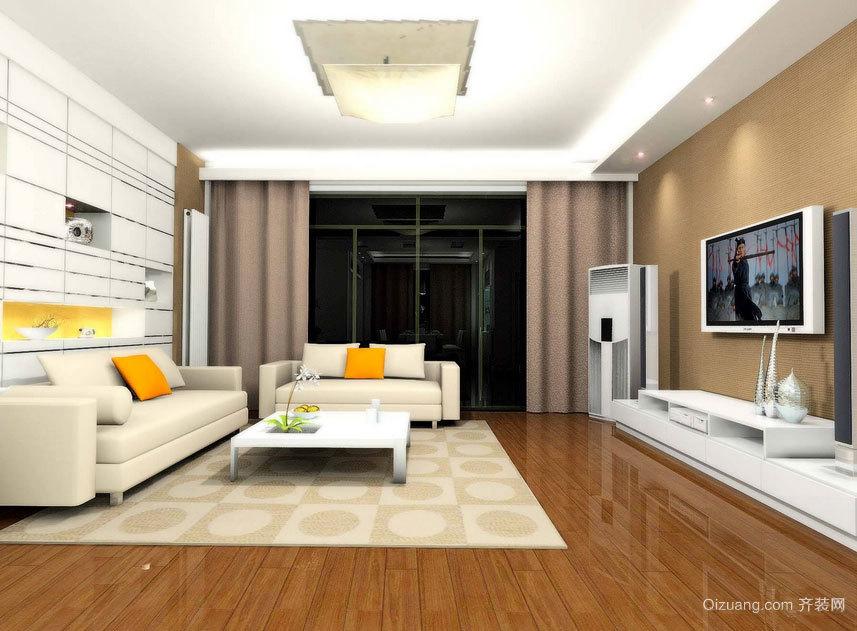 享受高贵与奢华:客厅菲林格尔地板装修效果图欣赏