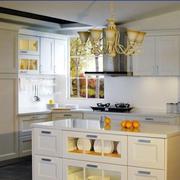 别墅厨房橱柜设计