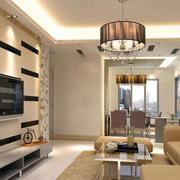 现代风格家庭沙发装修