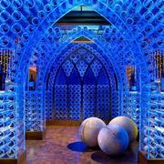 水晶世界酒窖装饰