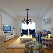 90平方客厅沙发设计