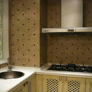 韩式清新小厨房装修