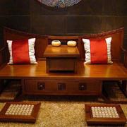 装饰古韵贵族气客厅床饰设计
