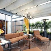 北欧风格阳台简约桌椅