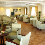 欧式咖啡厅照片墙装饰