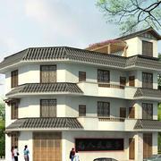 多层大型农村楼房设计