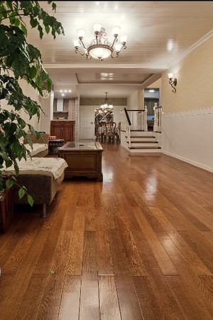 别墅客厅地板装修