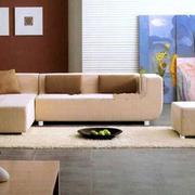 简约风格客厅地毯设计