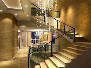 当代流行的别墅型楼梯装修效果图实例鉴赏