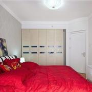 新房卧室床头背景墙
