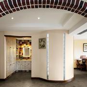 三室两厅拱形门设计