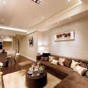 三室两厅客厅吊顶设计