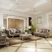 客厅欧式沙发设计