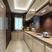 白色简约白色厨房