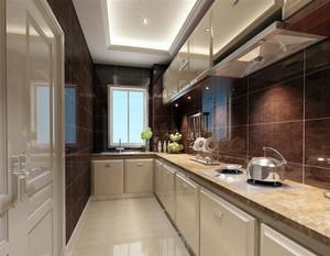 奢华而有韵味的简欧风格厨房装修效果图
