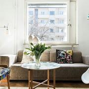 北欧风格客厅创意灯饰装修
