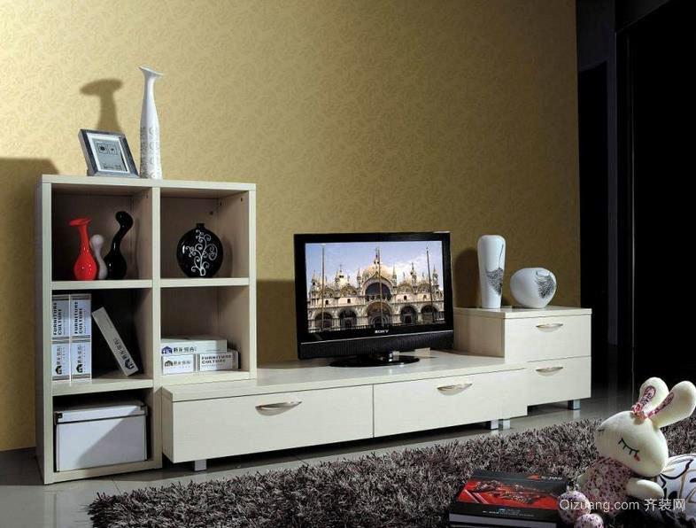 电视背景墙之组合电视柜装修一览