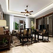 别墅客厅桌椅设计