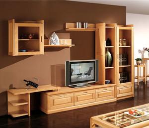 家庭实用的组合电视柜装修效果图