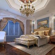 欧式婚房主卧设计