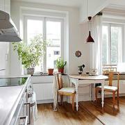 小户型后现代厨房装修