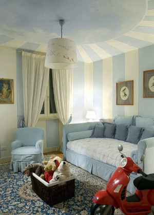 清新简约专为儿童房设计的儿童沙发装修效果图
