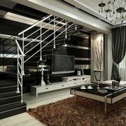 120平米房屋复式楼梯设计