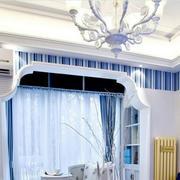 欧式拱形窗帘设计