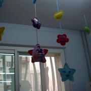 幼儿园小星星样式吊饰设计