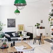 混搭风格客厅餐桌设计